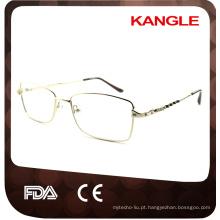 Quadro de óculos quadrados de forma de rosto de estilo novo com certificação CE