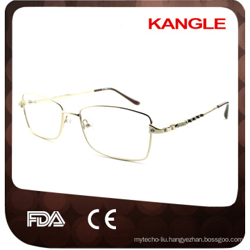 New Style face shape match square eyeglasses frame with CE certification