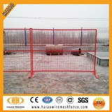 PVC coated outdoor fence temporary fence (ISO factory)