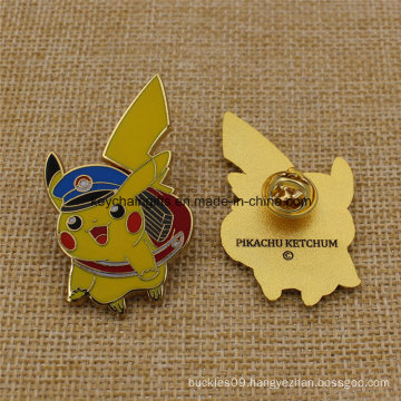 Promotion Custom Hard Enamel Metal Pikachu Pin Badge