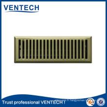 Dernière grille d'air de plancher modèle pour l'utilisation de ventilation
