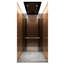 Black titanium mirror etching stainess steel  Luxury home lifts prices residential elevator