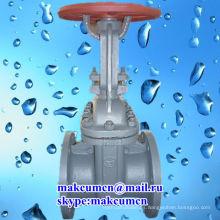 Z41H-16C estándar ruso GOST PN50-PN200 Acero inoxidable Stell Oleoducto Válvula de compuerta