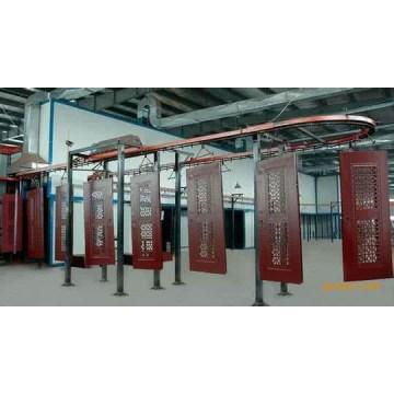 Wooden door electrostatic painting equipment