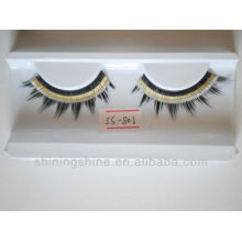 2015 hot design cheap two color false fake fashion eyelashes