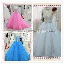 2013 o meio leste vestido de erva daninha Dubai Sweetheart Tulle Spaghetti tiras Vestidos de casamento estilo X008
