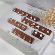 Vente chaude ensemble d'affichage de comptoir de bijoux de taille différente