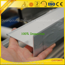 T Slot Aluminum Extrusion for Clean Room with Aluminium Section