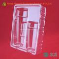 Устранимый Ясный контейнер пластиковый для косметики ПВХ