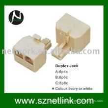 modular double adaptor