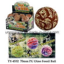 Balle de fossile PU Dino 70 mm