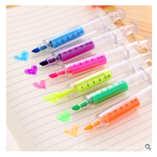 Promotional Highlighter Maker Fluorescent Pen with Chisel Nib