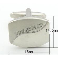 Gets.com brass oversized cufflinks