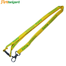Tubular Lanyard with Breakaway Buckel