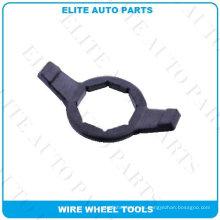Llave de bala de 2 lados y 2 barras para rueda de alambre