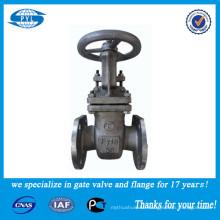 GOST flange cast steel valve 6 inch water gate valve