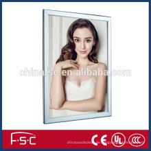 Werbung Produkt Aluminium Snap open-Frame Leuchtkasten geführt