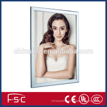 Advertising product aluminum snap open frame led light box