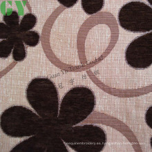Tela de sofá/cortina/tapizar de chenille del telar jacquar (G44-227)
