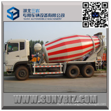 DFAC Dalishen Cummins Engine 10 M3 Beton Mixer Truck