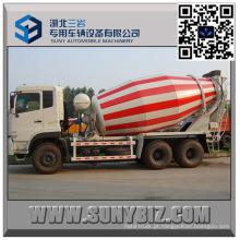 DFAC Dalishen CUMMINS Motor 10 M3 Beton Mixer Truck