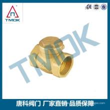 TMOK air conditioner and refrigerator spare parts air compressor brass valve brass check valve