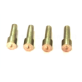 Precision Precision Custom Brass Hex Jack Screw