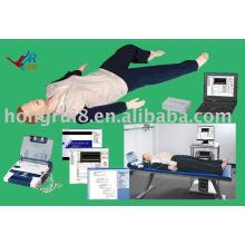 Reanimação cardiopulmonar avançada controlada por computador, desfibrilador externo automatizado aed