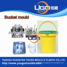 Experiencia de la fábrica de moldes de plástico pintura cubo molde fabricación China