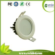 Éclairage encastré imperméable de salle de bains de 8W LED Downlight IP65