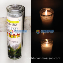 Paraffin Wax Church Candle/ Glass Religion Candle/ Jar Religious Candles
