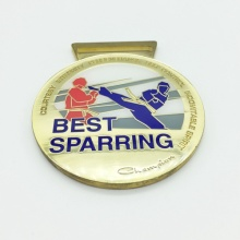 Custom Cheap Wholesale Souvenir Sports Award 3D Gold Medal