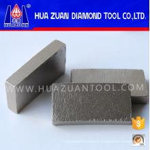 Segmentos de diamante para granito sólido