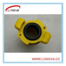 Cuerpo amarillo de 3/4 '' 110mm con Junta EPDM