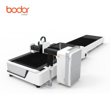 Bodor laser E3015 fiber laser metal cutting machine with exchange table