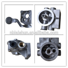 motor housing aluminum die casting ADC12,A383,A380,Alsi12