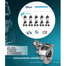 Knorr Einstellkappensatz K000945 - 1439493 81508226021 - 81508226024, Bremssattel-Reparatursatz