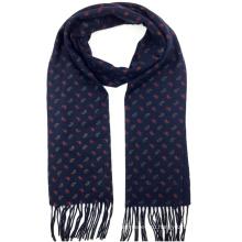 На заказ оптом мужские шотландка зима трикотажные шаблон кашемир snood шарф
