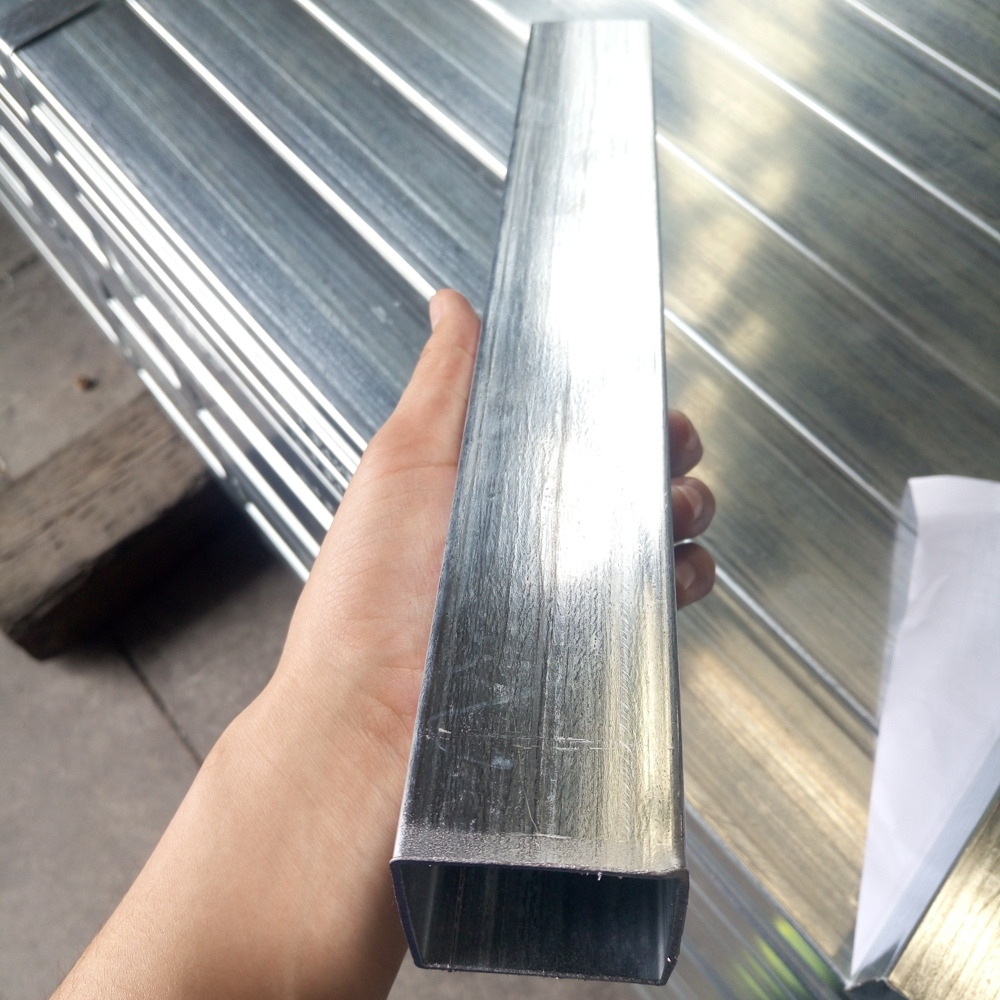 hollow section galvanized square tube for construction