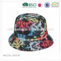 2015 nuevo diseño de sublimación de impresión completa sombrero del cubo fabricante