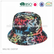 2015 new design full sublimation printing bucket hat manufacturer