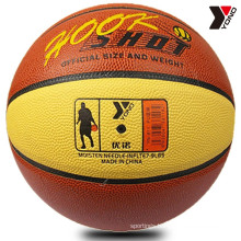 YONO high quality cheap pu basketball wholesale custom basketball