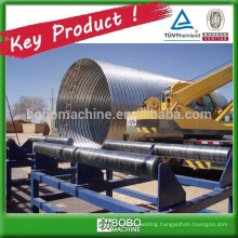 No-concrete culvert pipe machine