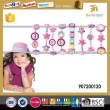 Jóias de brinquedo diy brinquedos de alta qualidade conjunto