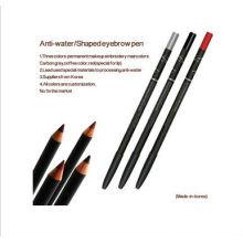 Crayon à sourcils à longue durée d'étanchéité à l'étain pour maquillage permanent