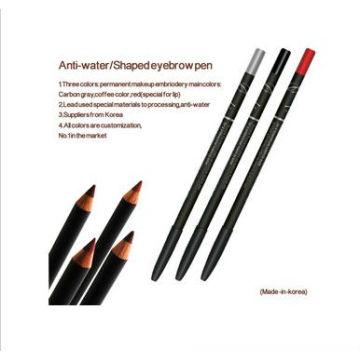 Wasserdichte langlebige Eyeliner Augenbraue Bleistift für Permanent Make-up