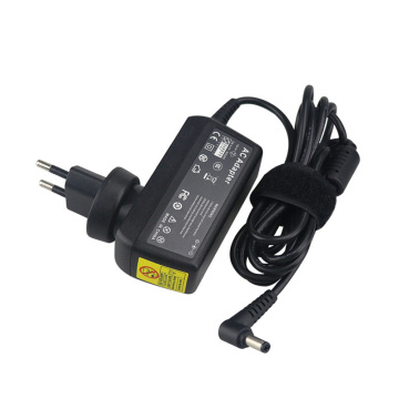 EU Plug Rechargeable 19V 2.37A Wall Charger