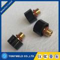 WP20 tig soldagem consumíveis soldagem 41v33 tampa traseira curta para acessórios de tocha de soldagem tig