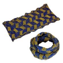 Женские унисекс шею теплым галантерейных толстый зимний трикотажные петли шарф Снуд (SK147)