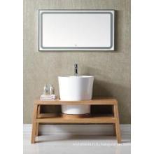 Деревянный главный шкаф зеркальный современный шкаф ванной комнаты (ин-8814199A)